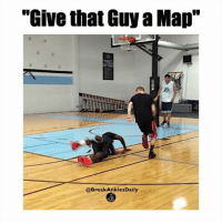 """Try to comment """"L"""" 3 times in a row without being interrupted. When you get it screenshot an DM me it 😂😭 ⠀ Via: @globalhooper: """"Give that Guy a Map""""  @Break Ankles Daily Try to comment """"L"""" 3 times in a row without being interrupted. When you get it screenshot an DM me it 😂😭 ⠀ Via: @globalhooper"""