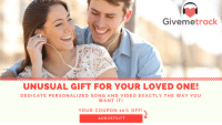 """Tumblr, Blog, and Http: Givemetrack  UNUSUAL GIFT FOR YOUR LOVED ONE!  DEDICATE PERSONALIZED SONG AND VIDEO EXACTLY THE WAY YOU  WANT IT!  YOUR COUPON 10% OFF!  AUGUSTGIFT <p><a href=""""https://novelty-gift-ideas.tumblr.com/post/164686265643/surprise-your-loved-one-dedicate-real-song"""" class=""""tumblr_blog"""">novelty-gift-ideas</a>:</p><blockquote> <p>Surprise your loved one! Dedicate real song, personalized for your loved one, and our songwriters and vocalists will record a custom song just for you! Your coupon code 10% off till August 31 """"AUGUSTGIFT""""  <br/></p> <p><a href=""""http://www.givemetrack.com""""></a><a href=""""http://www.givemetrack.com""""><b><a href=""""http://www.givemetrack.com"""">http://www.givemetrack.com</a></b></a><br/></p> </blockquote>"""