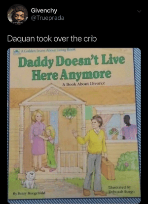 Daddy doesn t live here anymore book meme