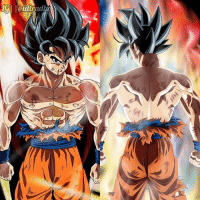 """Memes, Change, and 🤖: Gl l@ultradb @youngjijii.official art is colored on the left and IB @dragon.ball - """"I cannot change the people around me, but I can change what kind of people are around me!"""""""