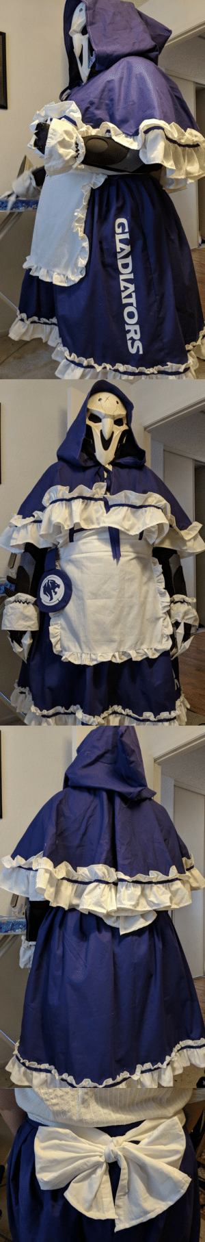 Gladiator, Tumblr, and Blog: GLADIATORS crypticorchid:  La Gladiator Maid Reaper ready for AX 2018!!!!