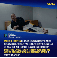 """Facts, Memes, and Samuel L. Jackson: GLASS  Follow  INENA  AONİ 