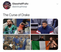 Drake please stay away from any and all sporting events: GlassHalfFultz  @pickuphoop  The Curse of Drake Drake please stay away from any and all sporting events