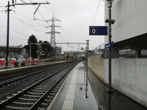 Switzerland knows how to index its rail tracks: Gleis  Mankdorf  108  974 Switzerland knows how to index its rail tracks