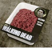 Glenn action figure: GLENN  ACTION  FIGURE  aMC  THE  WALKING DEAD Glenn action figure