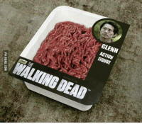 New action  figure released.- JC: GLENN  ACTION  FIGURE  BE THE  aMC  WALKINGDEAD  NE  N OR  E /U  LCG  VIA 9GAG.COM New action  figure released.- JC