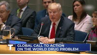 Today, World, and Drug: GLOBAL CALL TO ACTION  ON THE WORLD DRUG PROBLEM Today, we commit to fighting the drug epidemic together.