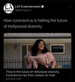 Global Pandemic killing millions? Our biggest concern has to be diversity in hollywood: Global Pandemic killing millions? Our biggest concern has to be diversity in hollywood