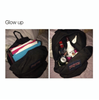 Girl Memes, Glow, and Schooled: Glow up FXCK SCHOOL