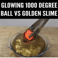 Memes, 🤖, and Degree: GLOWING 1000 DEGREE  BALL VS GOLDEN SLIME