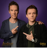 ; Benedict and Tom! I'm ready for Marvel to release that trailer even though we all know they won't :,) ⠀⠀⠀ AvengersInfinityWar TheAvengers SpiderMan DoctorStrange Marvel TomHolland BenedictCumberbatch: GMA  INFINTY w ; Benedict and Tom! I'm ready for Marvel to release that trailer even though we all know they won't :,) ⠀⠀⠀ AvengersInfinityWar TheAvengers SpiderMan DoctorStrange Marvel TomHolland BenedictCumberbatch