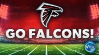 Share if you're rooting for the Atlanta Falcons! #SB51: GO FALCONS!  THE  IEW  20 Share if you're rooting for the Atlanta Falcons! #SB51
