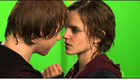 Memes, 🤖, and Ron and Hermione: Go Follow @must_act for daily inspiration from your favorite actors! They just posted a behind the scenes clip of Ron and Hermione's kiss! ❤ See it here 👉 @must_act