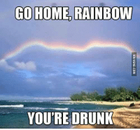 go home: GO HOME RAINBOW  YOU'RE DRUNK