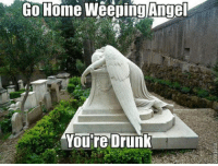 jimbo-nerdtron:  NO NO NO THIS IS NOT RIGHT THIS IS A FUCKING GRAVESTONE OF SOMEONE WHO COMMITTED SUICIDE/DIED AT A YOUNG AGE THE ANGEL WEEPING OVER IT REPRESENTS THE PERSON'S GAURDIAN ANGEL CRYING BECAUSE IT WASNT TIME FOR THEM TO DIE YET THIS IS WHY I HATE THE DOCTOR WHO FANDOM YOU SHITBAGS HAVE NO RESPECT AND JUST THINK YOU CAN MAKE A FUCKING JOKE OUT OF A VERY SERIOUS THING YOU SHOULD BE FUCKING ASHAMED : Go Home Weeping Angel  You're Drunk jimbo-nerdtron:  NO NO NO THIS IS NOT RIGHT THIS IS A FUCKING GRAVESTONE OF SOMEONE WHO COMMITTED SUICIDE/DIED AT A YOUNG AGE THE ANGEL WEEPING OVER IT REPRESENTS THE PERSON'S GAURDIAN ANGEL CRYING BECAUSE IT WASNT TIME FOR THEM TO DIE YET THIS IS WHY I HATE THE DOCTOR WHO FANDOM YOU SHITBAGS HAVE NO RESPECT AND JUST THINK YOU CAN MAKE A FUCKING JOKE OUT OF A VERY SERIOUS THING YOU SHOULD BE FUCKING ASHAMED