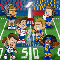 Memes, Patriotic, and Super Bowl: GO PAT  SUPER BOWL LIII  ATL  12  S UP E R B O W L .@SuperBowl Sunday is finally here!  @Patriots vs. @RamsNFL in #SBLIII! https://t.co/Tjv9Nc4aWX