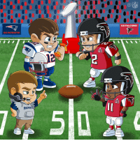 Super Bowl Sunday! SB51 Patriots RiseUp: GO PATRIOTS!  PATRIO  LII  GO FALCONS! Super Bowl Sunday! SB51 Patriots RiseUp