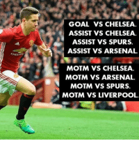 Ander Herrera is such an impressive and important player! Let's Hope He stays for long and plays like this for years to come! ❤️🔥 . . . . . . . manutd mufc manchesterunited manu united neymar footy football soccer rooney sfs s4s like selfie followback followme followforfollow likeforlike goals zlatan ibra yolo cr7 nike adidas messi ibrahimovic Ronaldo lol: GOAL VS CHELSEA.  ASSIST VS CHELSEA.  ASSIST VS SPURS.  ASSIST VS ARSENAL  MOTM VS CHELSEA.  MOTM VS ARSENAL.  MOTM VS SPURS.  MOTM VS LIVERPOOL. Ander Herrera is such an impressive and important player! Let's Hope He stays for long and plays like this for years to come! ❤️🔥 . . . . . . . manutd mufc manchesterunited manu united neymar footy football soccer rooney sfs s4s like selfie followback followme followforfollow likeforlike goals zlatan ibra yolo cr7 nike adidas messi ibrahimovic Ronaldo lol