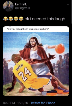 God brought Kobe to heaven just to 1v1 him: God brought Kobe to heaven just to 1v1 him