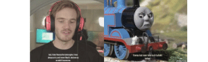 God, Bullshit, and Never: God,I hate Thomas the tank engine. It was  Thomas had never seen such bullshit  always on tv, and I never liked it. And now as  an adult it scares me  before  frabz.com Who else liked Thomas the Tank engine???
