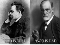 Memes, God Is Dead, and 🤖: GOD IS DEAD  GOD IS DAD