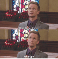 {4x7} How was your day?😊❤ -- Scene requested by @frustrated__monk himym howimetyourmother sitcom barneystinson neilpatrickharris: God, it's me, Barney  howimetyourmofherthefanpage  instagram  What up? {4x7} How was your day?😊❤ -- Scene requested by @frustrated__monk himym howimetyourmother sitcom barneystinson neilpatrickharris