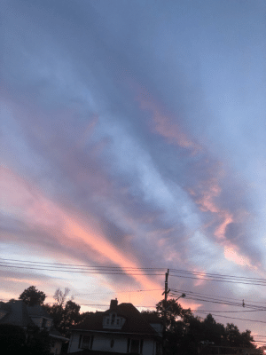 God, Athiest, and Sky: God says trans rights (I'm an athiest, so if you're like me, then the sky does)