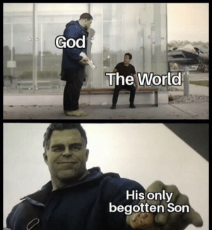 God, World, and Mine: God  The World  His only  begotten Son Mine is an odyssey of grace.