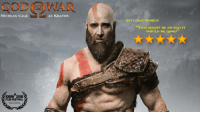 """Nicolas Cage: GOD WAR  NICOLAS CAGE  AS KRATOS  SUITABLY BORED:  """"THIS MIGHT BE SO BAD IT  WOULD BE GOOD  SXSW 2018  FILM FESTIVAL"""