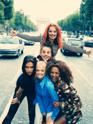 goddess-of-hookers:    Spice Girls photographed by Tim Roney in Paris(1996): goddess-of-hookers:    Spice Girls photographed by Tim Roney in Paris(1996)