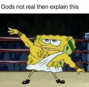 Atheist, Gods, and Real: Gods not real then explain this No longer atheist