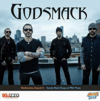Memes, Http, and Tomorrow: GODSMACK  Wednesday, August 9 Sands Steel Stage at PNC Plaza  95 IZZO  REST Musikfest on AUG 9 in Bethlehem, PA is ON SALE TOMORROW at 10AM EST !! Purchase at: http://www.musikfest.org