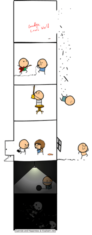 Read more comics like this at http://explosm.net/comics/2236/: Gody  La Warl  Cyanide and Happiness Explosm.net Read more comics like this at http://explosm.net/comics/2236/