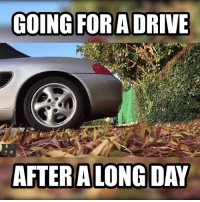 Cars, Driving, and Drive: GOING FOR A DRIVE  AFTER ALONG DAY Just make sure it's warmed up first 😂 Car Throttle Submitted by Ross Tarn