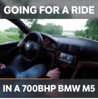 Bmw, Memes, and Monster: GOING FOR A RIDE  IN A 700BHP BMW M5 E39 M5s are just awesome! This one is a monster! - - tuning bmw m5 modified euro turbo boost carswithoutlimits carsofinstagram