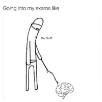 Tumblr, Http, and Stuff: Going into my exams like  Do Stuff @studentlifeproblems