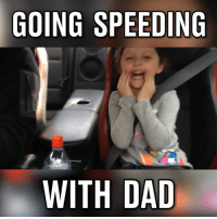 Dank, 🤖, and Gtr: GOING SPEEDING  WITH DAD Dad is taking her for a spin in the GTR!!