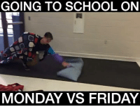 GOING TO SCHOOL ON MONDAY VS FRIDAY 😱😱😱😱😱 Credit: ROY PURDY: GOING TO SCHOOL ON  MONDAY VS FRIDAY GOING TO SCHOOL ON MONDAY VS FRIDAY 😱😱😱😱😱 Credit: ROY PURDY