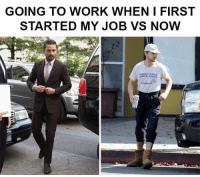 Work, Games, and Job: GOING TO WORK WHEN I FIRST  STARTED MY JOB VS NOW  NNSYLVANIA  SENIOR GAMES