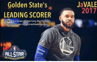 "All Star, Draymond Green, and Kevin Durant: Golden State's  LEADING SCORER  Behind Kevin Durant, Stephen Curry, KlayThompson,  Draymond Green, Ian Clark and Andre lgoudala)  ALLSTAR  ennio  JaVALE  2017 We have 600k+ people that follow this page.   IF EVERY ONE OF YOU VOTES FOR JaVale McGee, we can get him to the All Star Game!   Comment ""JaVale McGee #NBAVote"" 10 times!   We've already gotten him 20k votes!   THEN SHARE THE POST!!! SHARE IT!"