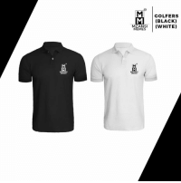 Memes, Black, and Logo: GOLFERS  (BLACK)  NWHITE)  MEMES Quality material Golfer with embroidery logo from Mzansi Memes now available at :  www.urbanmarketsouthafrica.com. Use Code : Mzansi10 at Check out.