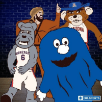 The Sweet 16 Dance has a little bit of everything.: GONZAGA  O CBS SPORTS The Sweet 16 Dance has a little bit of everything.