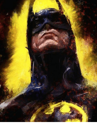 """Good afternoon Gothamites and I hope you're all having a happy Nerd Wednesday! Today we'll have more """"50 Tales for 50 Years: A Celebration of Barbara Gordon""""! To kick off today, here is a Batman painting by illustrator Ehsan S. Azzuz @EAzzuz! To see more of their works, please visit their website at Ehsana.deviantart.com! Thanks for following and we'll have more History of the Batman soon! ✌🏼️💛🎨: Good afternoon Gothamites and I hope you're all having a happy Nerd Wednesday! Today we'll have more """"50 Tales for 50 Years: A Celebration of Barbara Gordon""""! To kick off today, here is a Batman painting by illustrator Ehsan S. Azzuz @EAzzuz! To see more of their works, please visit their website at Ehsana.deviantart.com! Thanks for following and we'll have more History of the Batman soon! ✌🏼️💛🎨"""