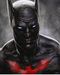 Ali, Batman, and Facebook: Good afternoon Gothamites and I hope you're all having a happy Nerd Wednesday! Soon we will being a brand new Batman history session celebrating an important aspect of the Dark Knight's 78 years! Until then, please enjoy this Batman Beyond fan art by illustrator Adnan Ali @addu_art! Check out more of @addu_art's work on their websites at Adduart.deviantart.com and Facebook.com-TheArtofAdnanAli! Thanks for following and we'll have more History of the Batman soon! ✌🏼❤️🦇🎨