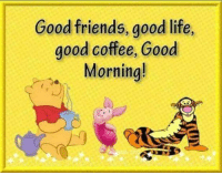 Dank, Friends, and Life: Good friends, good life,  good coffee, Good  Morning! #jussayin