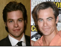 """Good Genes or Good Docs? Chris Pine's good looks are out of this universe! Here's a 24-year-old version of the """"Star Trek"""" reboot back in 2004 and 14 years later The """"Wonder Woman"""" actor who just turned 38 this past week - at ComicCon. Good Genes or Good Docs? tmz chrispine wonderwoman goodgenes gooddocs: Good Genes or Good Docs? Chris Pine's good looks are out of this universe! Here's a 24-year-old version of the """"Star Trek"""" reboot back in 2004 and 14 years later The """"Wonder Woman"""" actor who just turned 38 this past week - at ComicCon. Good Genes or Good Docs? tmz chrispine wonderwoman goodgenes gooddocs"""