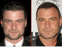 Memes, Good, and Old: Good Genes or Good Docs?! The spotlight is on Liev Schreiber's good looks! 🔥 Here's a 30-year-old version of the smirking stud back in 1998 (left) and 19 years later in Hollywood last week (right). A perfect man. lievschreiber tmz goodgenes goodgenesorgooddocs