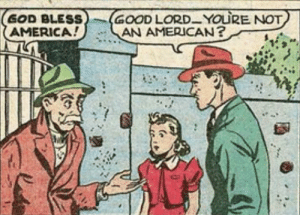 Can't you tell?: GOOD LORD-YOURE NOT  AN AMERICAN?  GOD BLESS  AMERICA! Can't you tell?