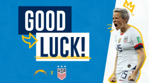 Memes, Chargers, and Good: GOOD  LUCK!  HSA  15 RT @Chargers: BRING IT HOME ‼️  #OneNationOneTeam | #BoltUp https://t.co/5yaQGHSZ6j