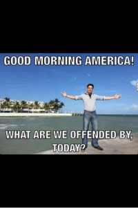 Goodmorningamerica Com: GOOD MORNING AMERICA!  WHAT ARE WE OFFENDED BY  TODAY2
